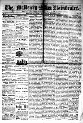 McHenry Plaindealer (McHenry, IL), 3 Oct 1877