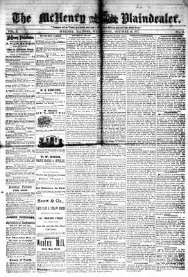 McHenry Plaindealer (McHenry, IL), 10 Oct 1877