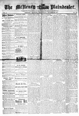 McHenry Plaindealer (McHenry, IL), 24 Oct 1877