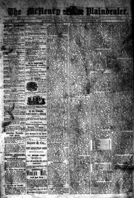 McHenry Plaindealer (McHenry, IL), 28 Nov 1877