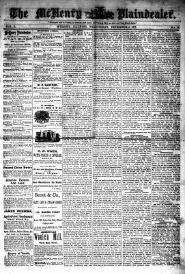 McHenry Plaindealer (McHenry, IL), 5 Dec 1877