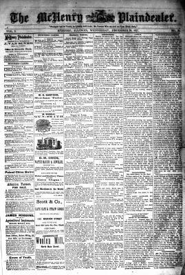 McHenry Plaindealer (McHenry, IL), 26 Dec 1877