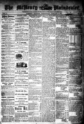 McHenry Plaindealer (McHenry, IL), 2 Jan 1878