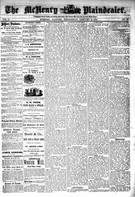 McHenry Plaindealer (McHenry, IL), 16 Jan 1878