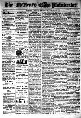McHenry Plaindealer (McHenry, IL), 30 Jan 1878