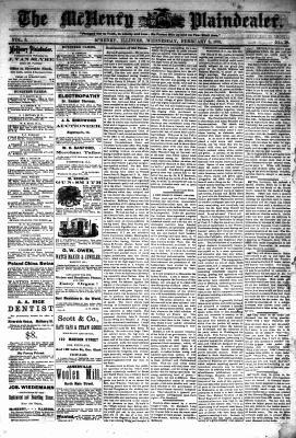 McHenry Plaindealer (McHenry, IL), 6 Feb 1878