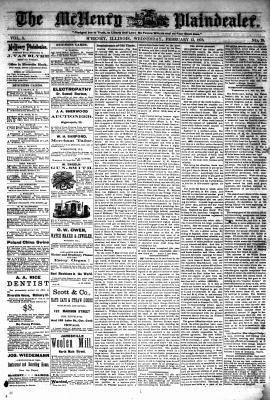 McHenry Plaindealer (McHenry, IL), 13 Feb 1878
