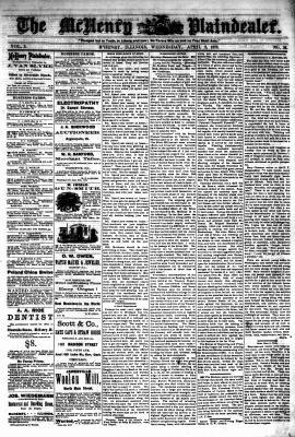 McHenry Plaindealer (McHenry, IL), 3 Apr 1878