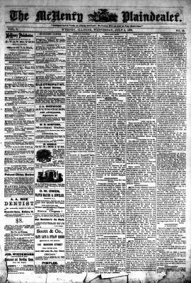 McHenry Plaindealer (McHenry, IL), 3 Jul 1878