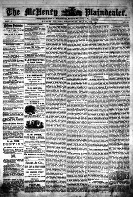 McHenry Plaindealer (McHenry, IL), 24 Jul 1878