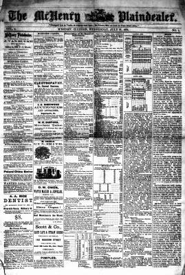 McHenry Plaindealer (McHenry, IL), 31 Jul 1878