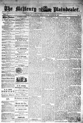 McHenry Plaindealer (McHenry, IL), 28 Aug 1878