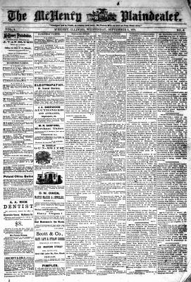 McHenry Plaindealer (McHenry, IL), 4 Sep 1878