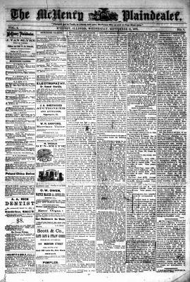 McHenry Plaindealer (McHenry, IL), 11 Sep 1878