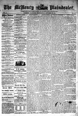 McHenry Plaindealer (McHenry, IL), 16 Oct 1878