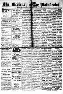 McHenry Plaindealer (McHenry, IL), 6 Nov 1878
