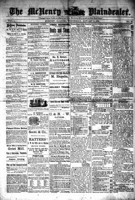 McHenry Plaindealer (McHenry, IL), 8 Jan 1879