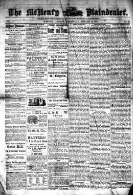 McHenry Plaindealer (McHenry, IL), 15 Jan 1879