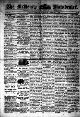 McHenry Plaindealer (McHenry, IL), 5 Feb 1879