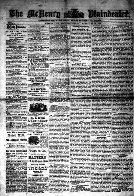 McHenry Plaindealer (McHenry, IL), 12 Feb 1879