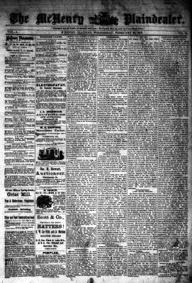 McHenry Plaindealer (McHenry, IL), 26 Feb 1879