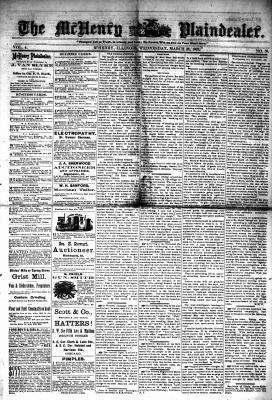 McHenry Plaindealer (McHenry, IL), 26 Mar 1879