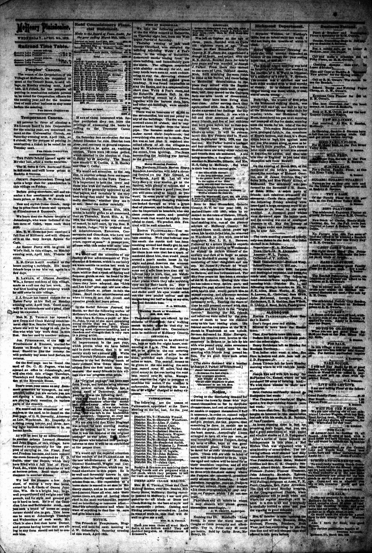 McHenry Plaindealer (McHenry, IL), 9 Apr 1879