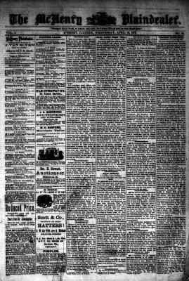 McHenry Plaindealer (McHenry, IL), 16 Apr 1876