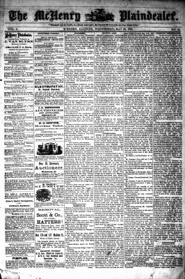 McHenry Plaindealer (McHenry, IL), 28 May 1879