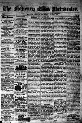 McHenry Plaindealer (McHenry, IL), 11 Jun 1879
