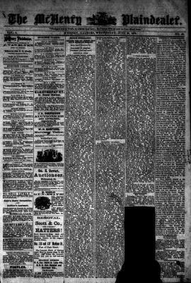 McHenry Plaindealer (McHenry, IL), 25 Jun 1879