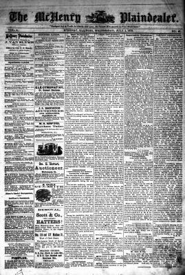 McHenry Plaindealer (McHenry, IL), 2 Jul 1879