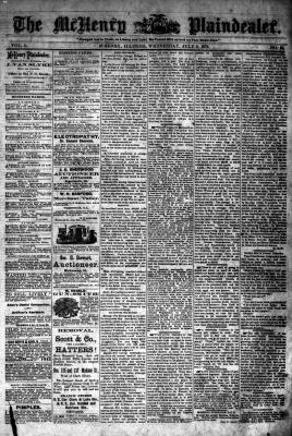 McHenry Plaindealer (McHenry, IL), 9 Jul 1879