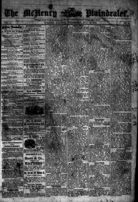 McHenry Plaindealer (McHenry, IL), 16 Jul 1879
