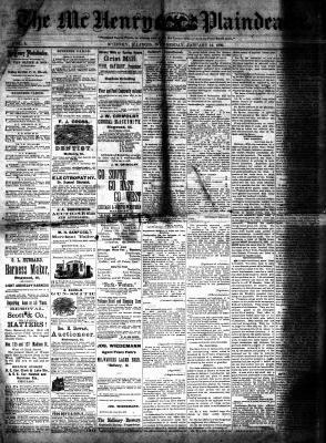 McHenry Plaindealer (McHenry, IL), 14 Jan 1880
