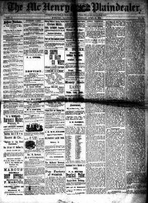 McHenry Plaindealer (McHenry, IL), 21 Apr 1880