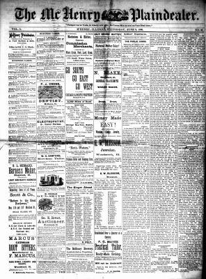 McHenry Plaindealer (McHenry, IL), 9 Jun 1880