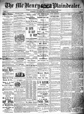 McHenry Plaindealer (McHenry, IL), 30 Jun 1880