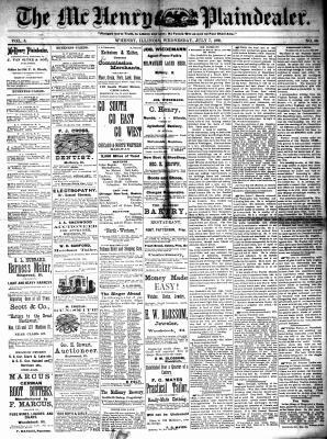 McHenry Plaindealer (McHenry, IL), 7 Jul 1880