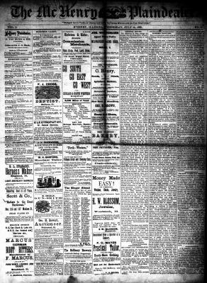 McHenry Plaindealer (McHenry, IL), 14 Jul 1880