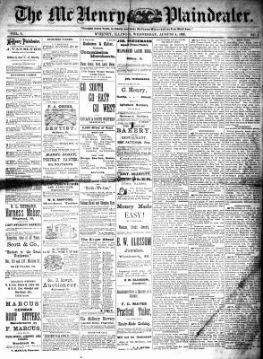 McHenry Plaindealer (McHenry, IL), 4 Aug 1880