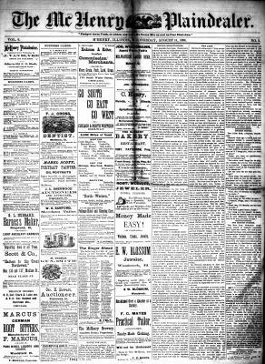 McHenry Plaindealer (McHenry, IL), 11 Aug 1880