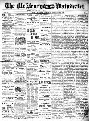 McHenry Plaindealer (McHenry, IL), 22 Sep 1880