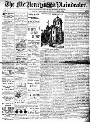 McHenry Plaindealer (McHenry, IL), 13 Oct 1880