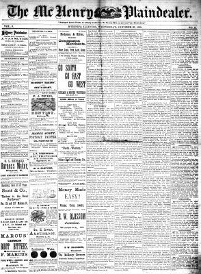 McHenry Plaindealer (McHenry, IL), 20 Oct 1880