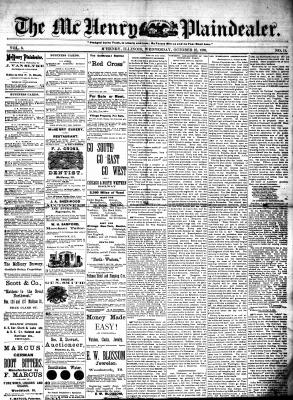 McHenry Plaindealer (McHenry, IL), 27 Oct 1880