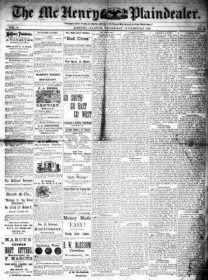 McHenry Plaindealer (McHenry, IL), 10 Nov 1880