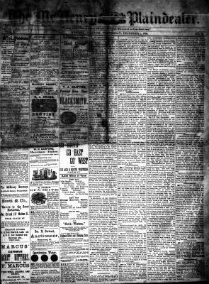 McHenry Plaindealer (McHenry, IL), 1 Dec 1880