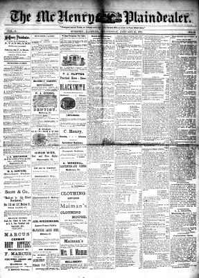 McHenry Plaindealer (McHenry, IL), 12 Jan 1881