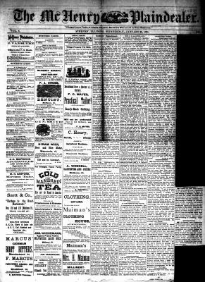 McHenry Plaindealer (McHenry, IL), 26 Jan 1881